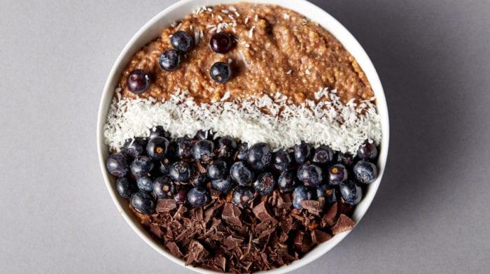 Recette Sans Gluten de petit-déjeuner de Quinoa au Chocolat