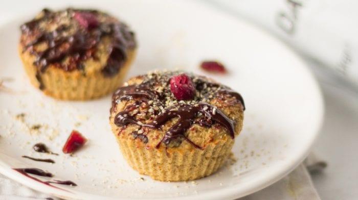 Recette de muffins à base de compote de pomme et sans farine