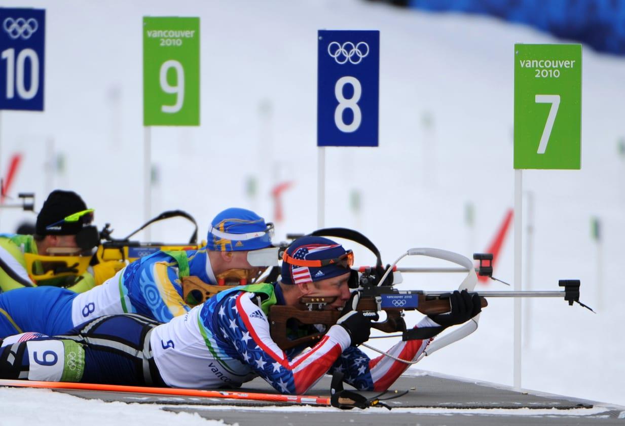 biathlon - épreuve de tir
