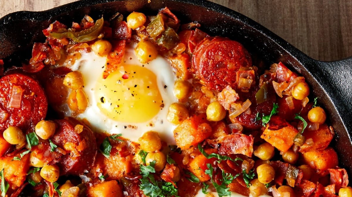 Patate Douce hachée | Un petit déjeuner pour les musclés