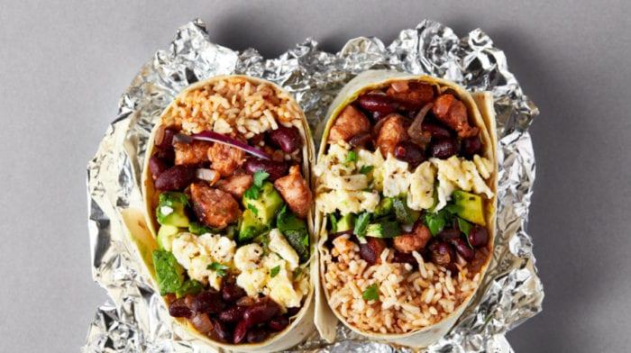 Burrito du Petit Déjeuner à Congeler Pour Toute La Semaine