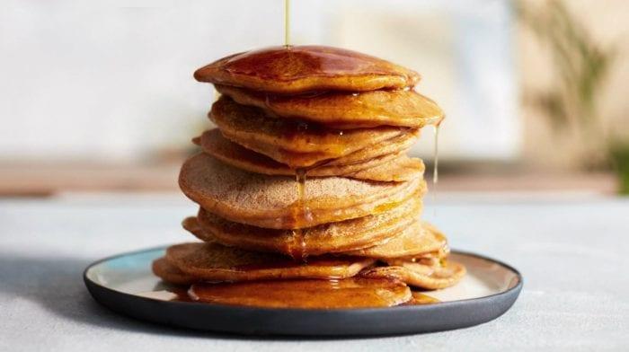 Pancakes protéinés Vegan à base de citrouille