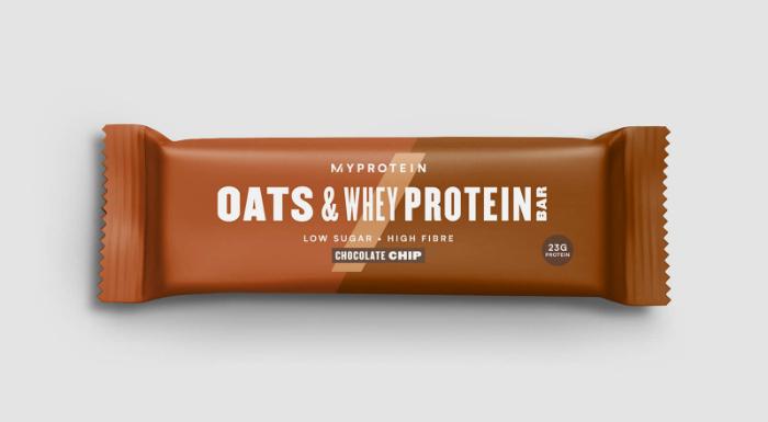 barres protéinée à l'avoine Myprotein