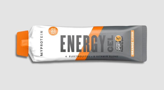 géls énergetiques Myprotein