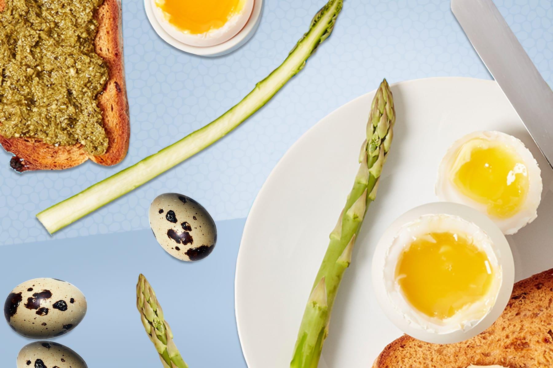 Améliorez votre petit-déjeuner du week-end | Oeufs à la coque et mouillettes