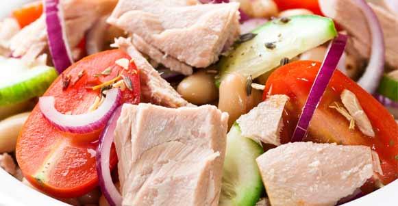 Cremiger Thunfisch-Salat
