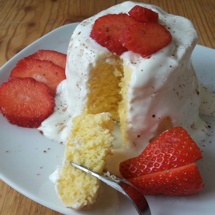 Protein Vanille Mugcake