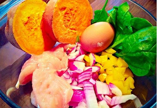 Gesunde-Quinoa-Burger-mit-Hähnchen-2