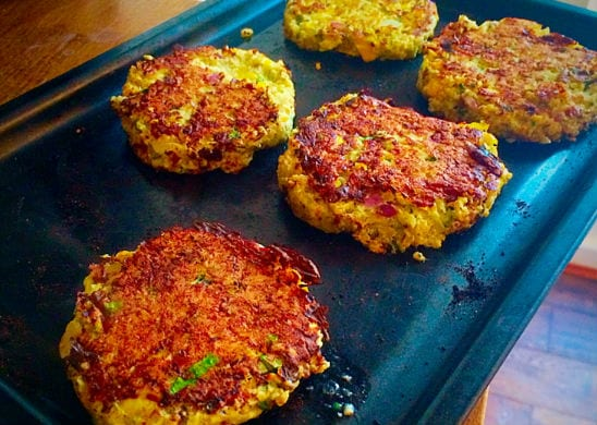 Gesunde-Quinoa-Burger-mit-Hähnchen-5