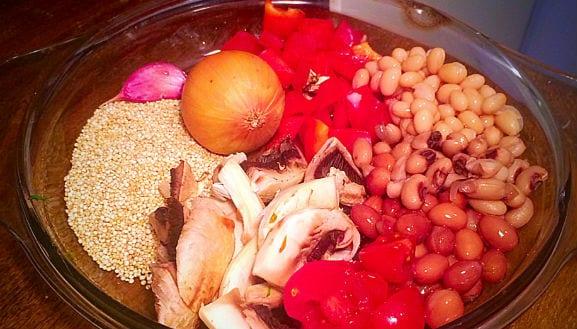 Linsen-Quinoa-Bohnen-Pfanne (2)