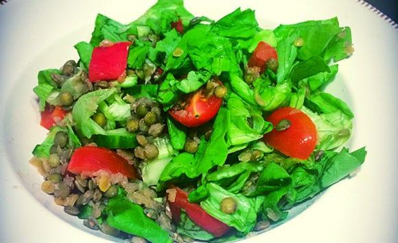 Linsen Salat