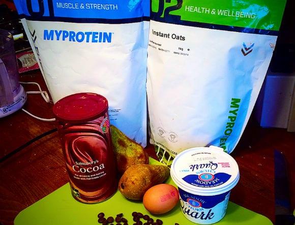 Protein-Birnen-Cupcake-2