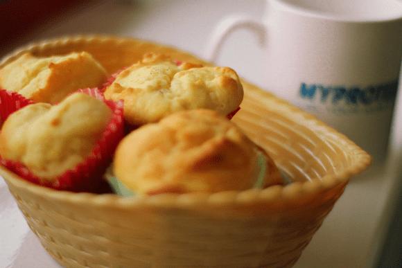 Zitronen Tropfen Muffins