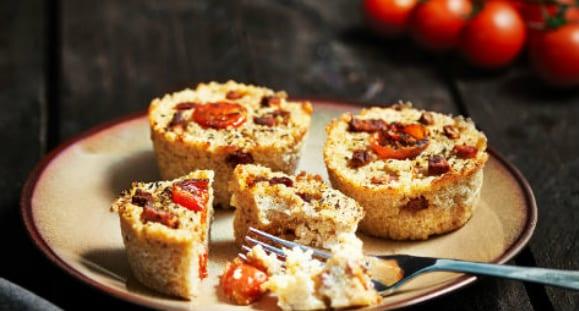 Herzhafte Quinoa Muffins
