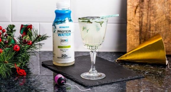 Protein Mojito Mocktail