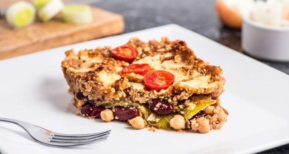 Vegane Protein Lasagne