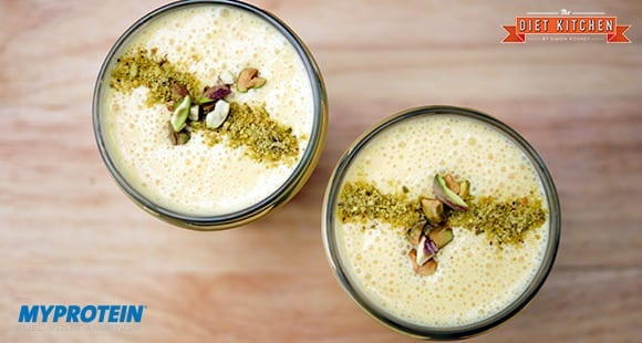 Mango-Lassi High Protein Smoothie