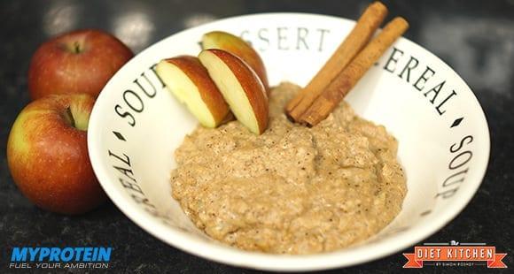 Apfelkuchen Protein Porridge