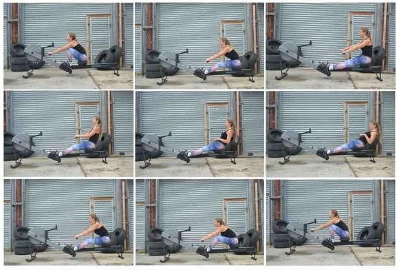 CrossFit Übung #1: Rudern