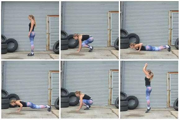 CrossFit Übung #3: Burpee's