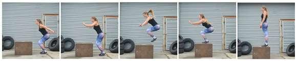 CrossFit Übung #4: Box Jumps