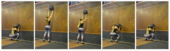 CrossFit Übung #5: Wall Balls