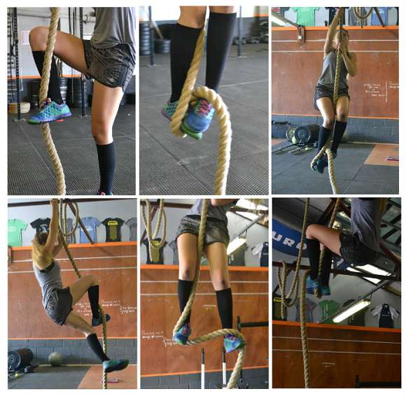 CrossFit Bodyweight Übung #1: Rope Climb