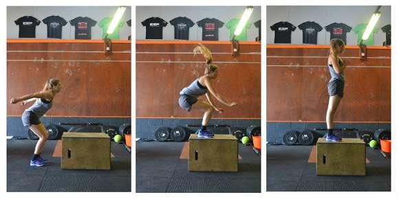 CrossFit Bodyweight Übung #3: Box Jumps