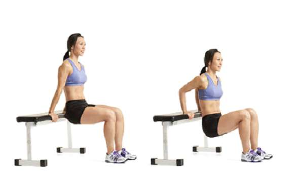 Übung #7: Triceps Dips