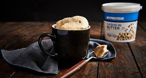 1 Minuten-Protein-Tassenkuchen mit Toffee-Geschmack
