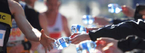 Frage #8: Was sollte ich vor und während des Rennens trinken?
