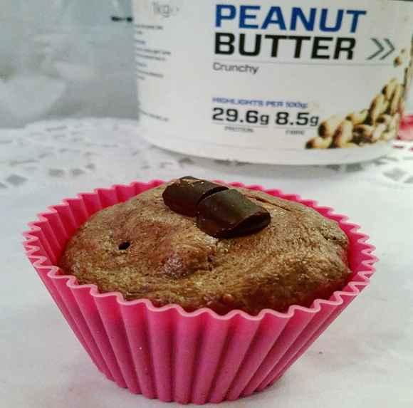 Schokoladen Brownie Muffins aus der Mikrowelle