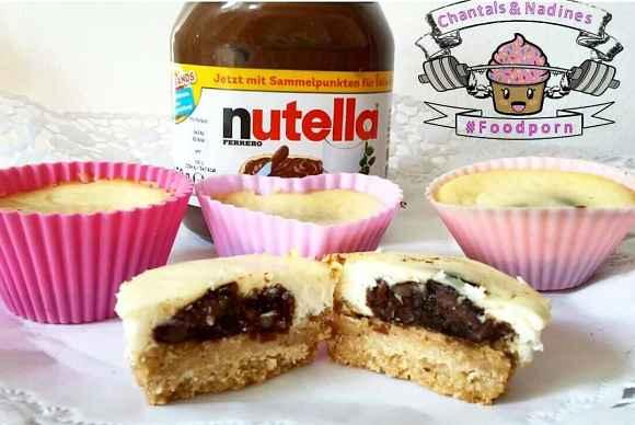 Nutella Käsekuchen Muffins