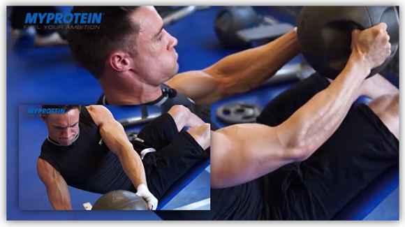 Bauchmuskeln| Medizinball-Training im Bodybuilding & Kraftsport – Teil 1