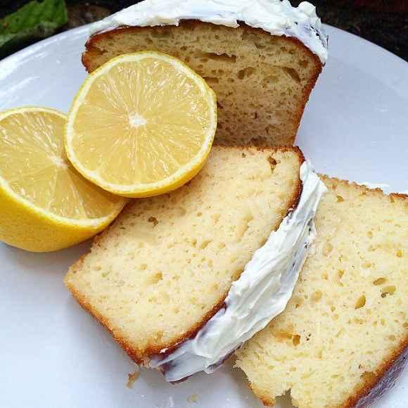 Proteinreicher Zitronenkuchen