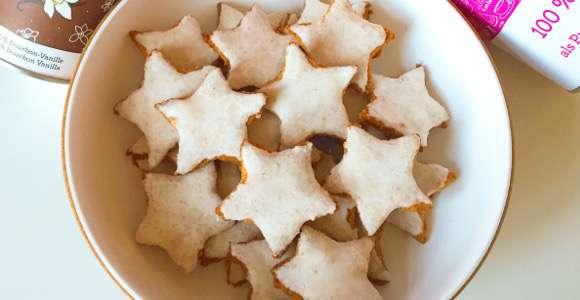 Weihnachtsrezept: Low Carb Zimtsterne