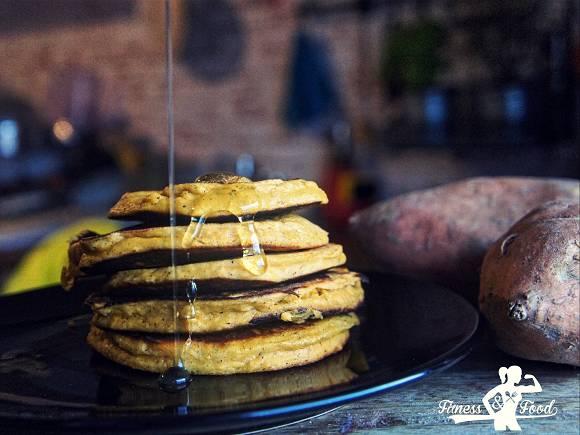 Süßkartoffel Pancakes