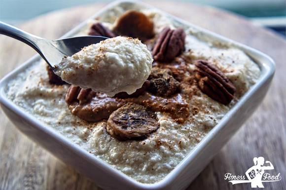 Proteinreiches Eiklar-Porridge | Eiweiss Rezepte