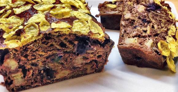 Cornflakes-Cake | Protein Kuchen Rezept
