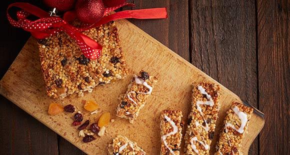 Gesunde Protein Krispy Riegel | Hausgemachte Ceralien Proteinriegel