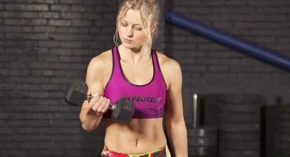 Tipp #3: Bau Muskeln auf