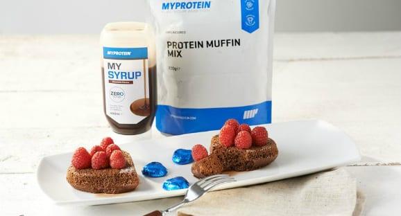 Protein Schoko Kuchen | Gesundes Valentinstag Rezept