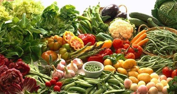 Weg #1: Decke dich mit magerem Protein und Gemüse ein