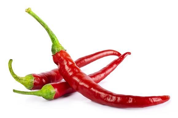 Lebensmittel #3: Scharfe Paprika