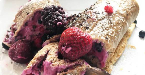 Protein Biskuitrolle | Schnelles Protein Rezept