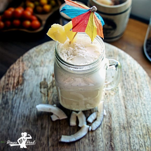 Fitness Piña Colada | Fitness Cocktail Rezept