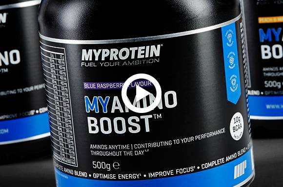 Das neue MYAMINO BOOST Energie-Supplement | Koffein, Grüntee, BCAAs, Guarana
