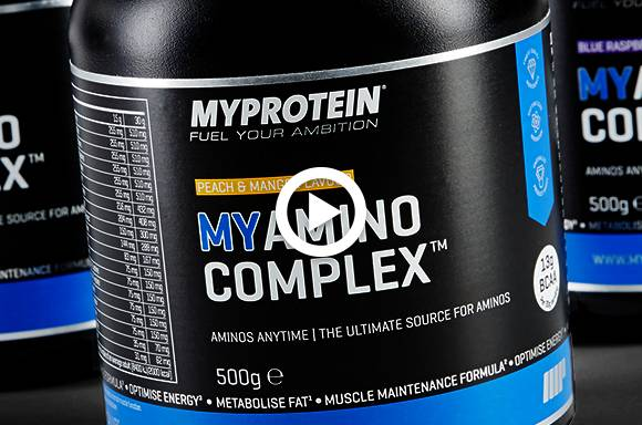 Der neue MYAMINO COMPLEX | Supplement für jede Zeit | Vitamine, Grüntee, BCAA, Guarana
