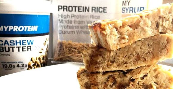 Protein Reiskuchen | Post-Workout Rezept