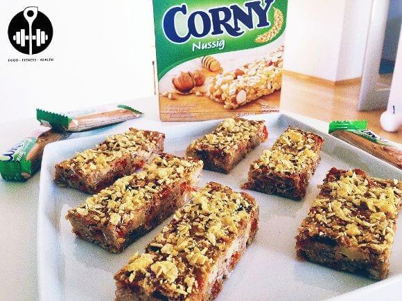 Gesunde Corny Riegel | Fitness Snack Rezept